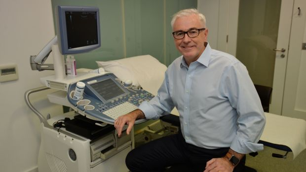 Obstetrician Prof Sean Daly, founder of the Evie pregnancy care service. Photograph: Alan Betson