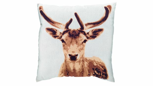 Deer cushion, Dealz, €1.50