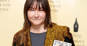 Ali Smith. Whereas 'Autumn' wore its politics relatively lightly, the message in 'Winter' is laid on a bit thick. Photograph:   Tristan Fewings/Getty Images