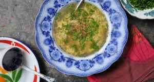 Lilly Higgins's egg drop soup