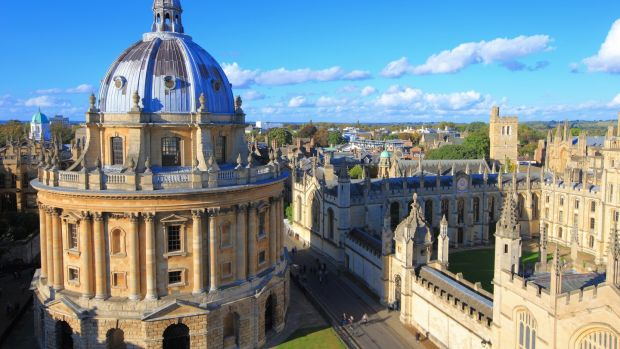 The University city of Oxford. Photograph: Getty Images