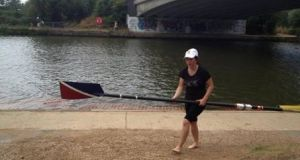 One of Denise Power's favourite hobbies is rowing in the river Thames.