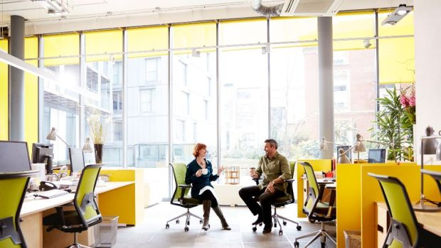 Office plans and seating arrangements are transforming, to reflect the day-to-day needs of employees. Photograph: Getty Images