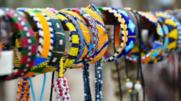 Bring home some Masai handcrafts from a visit to Nairobi. Photograph: Getty Images