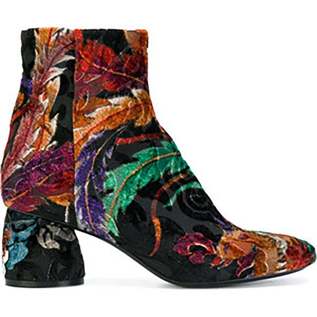 Strategia floral embroidered boots €353 from farfetch.com