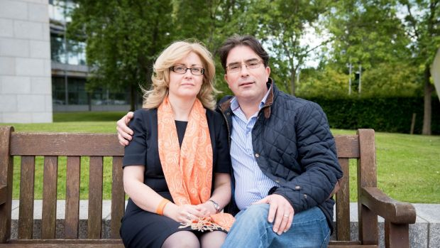 Paula Kerr, pictured with partner Padhraic, will be taking part to raise funds for and awareness of children affected with Duchenne Muscular Dystrophy, a terminal muscle-weakening genetic disease.