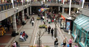 File image of Market Cross Shopping Centre in Kilkenny city.