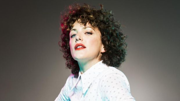 In Dublin: Annie Mac. Photograph: BBC