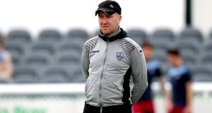 Galway United manager Shane Keegan is without suspended midfielder Gavan Holohan for the must-win clash against Dundalk. Photograph: Bryan Keane/Inpho