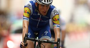 Strong performances from Dan Martin saw the Irish cyclist place in the top 10 of UCI's rankings for road riders. Photograph:  Bryn Lennon/Getty Images