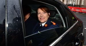Former Garda commissioner Nóirín O'Sullivan will take up a new role with the International Association of Chiefs of Police later this year. File photograph: Dara Mac Dónaill/The Irish Times