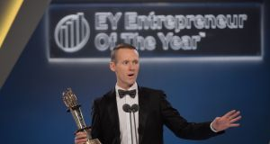 26/10/2017 -- Winner of the EY Emerging Entrepreneur Of The Year Jack Teeling of Teeling Whiskey Company.Photograph: Alan Betson / The Irish Times