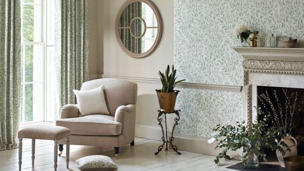 Wallpaper from the Sanderson collection will feauture in the showhouse