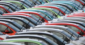 The weakness of sterling has led to higher used-car imports from the UK. Photograph: Barry Batchelor/PA Wire
