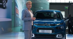 Citroën chief executive Linda Jackson: aware of the previous precarious position of the brand in the Irish market