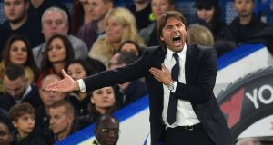 Chelsea head coach Antonio Conte has described reports of his possible exit as 'bullshit'. Photo: Glyn Kirk/Getty Images