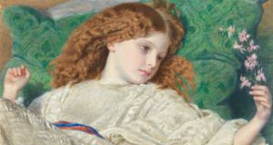 For the Love of Art: Dreams, by Frederic William Burton. Photograph courtesy of Yale Center for British Art, Paul Mellon Fund.