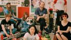 Superorganism: Eight strangers are drawn together from different corners of the world to  make music together under one roof