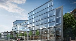 The largest of the three blocks being developed  at Number One Ballsbridge is to be let entirely to Avolon