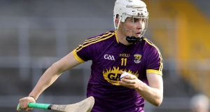 Rory O'Connor: Wexford's promising  19-year-old was  in exceptional form during St Martin's triumphant run to the county senior hurling title. Photograph: Tommy Dickson/Inpho