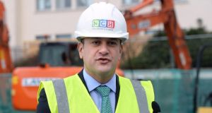 "Taoiseach Leo Varadkar. ""If High-Vis Varadkar had a favourite meal, it would be fresh sod and (video) clips."" Photograph: Dara Mac Dónaill"