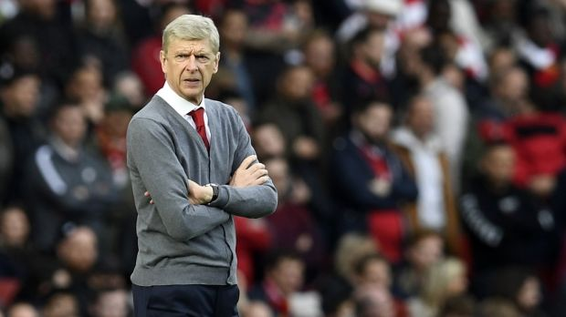 Arsenal beat Swansea in Arsene Wenger's 800th Premier League game in charge. Photograph: Will Oliver/EPA