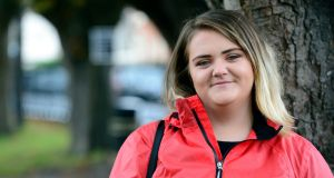 Kayley Joyce: 'The one thing I didn't want for my kids was to be homeless.' Photograph: Cyril Byrne/The Irish Times