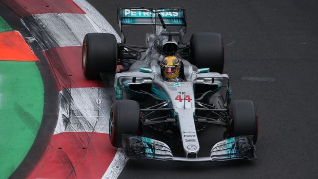 Lewis Hamilton has been crowned Formula One world champion for a fourth time. Photograph: Edgard Garrido/Reuters