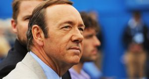 US actor Kevin Spacey:   said he has  chosen 'now to live as a gay man'. Photograph: EPA