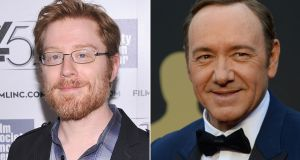 Anthony Rapp (L) has accused  Kevin Spacey  of making a sexual advance on him at a 1986 party when he was only 14 years old. Photographs: AFP/Getty Images