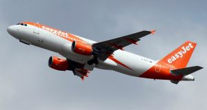 The deal will see easyJet lease up to 25 A320 aircraft and take over other assets from Air Berlin. Photograph: Regis Duvignau/Reuters
