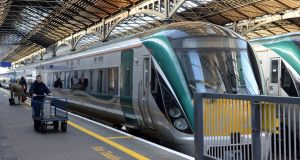 Irish Rail  will not be providing alternative transport on the dates of the action and other transport operators will not be accepting its tickets.  Photograph: Eric Luke