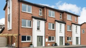 Dawson Place in Dublin 7: a new scheme that has been built on an infill site almost at the Montpelier Hill intersection.