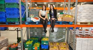 "Iseult Ward and Aoibheann O'Brien of FoodCloud: ""My priority is to do something I'm passionate about and that I feel is having a positive impact."" Photograph: Naoise Culhane"