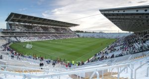 Páirc Uí Chaoimh was yet to be completed when the stadiums included in the Irish bid were assessed. Photograph: Oisin Keniry/Inpho