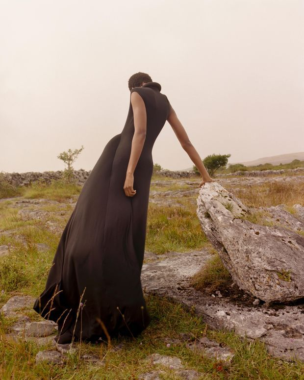 The Burren formed the backdrop and inspiration for Michael Stewart's graduate RCA collection