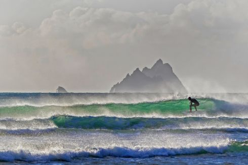 Winner - People & the Coast - Tom Ormond, Skelligs Surfer, St Finians Bay, Co Kerry