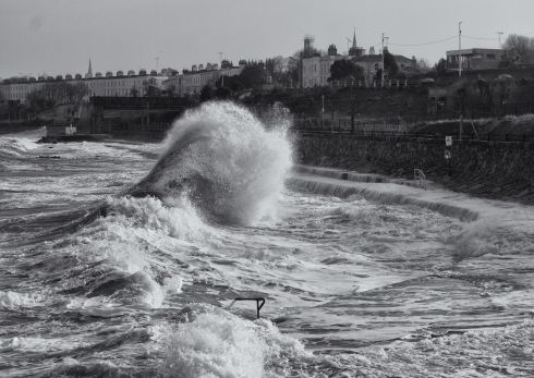 The Power of an Unresting Soul, Seapoint, Co Dublin by Gino Perfetti