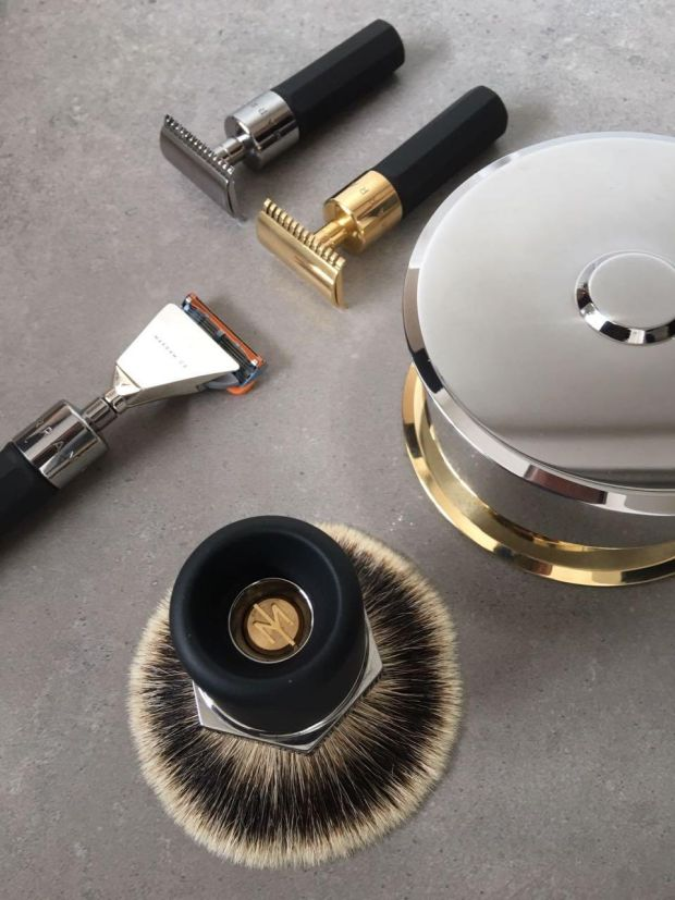 Old school shaving kit from new brand Marram Co