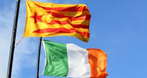 The Irish Travel Agents Association has urged Irish tourists to exercise caution when travelling in Catalonia. File photograph: Paul Faith/AFP/Getty Images