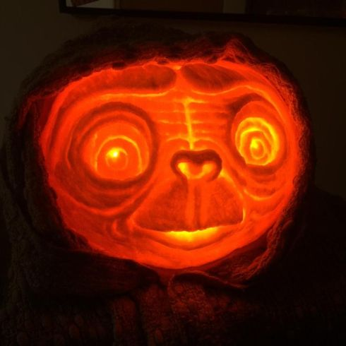 """ET the Pumpkin"" by Neve Connolly, Drumcondra"