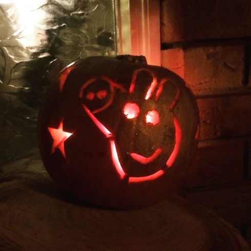 """Peppa Pig"" by Oli McHugh: ""Personally I find Peppa Pig quite frightening. My daughter Iris however, is a big fan.   She is almost three and is delighted by this creation."""