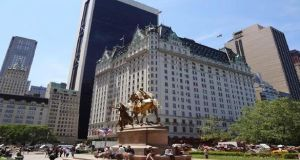 The Plaza hotel in Manhattan, where Cathal Dolan is director of rooms