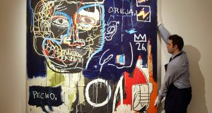 Top of the market: Untitled (Pecho/Oreja) by Jean-Michel Basquiat. Photograph  Cate Gillon/Getty Images