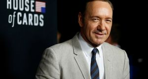 File image of actor Kevin Spacey. The International TV Academy has withdrawn a planned award for  Spacey. File photograph: Mario Anzuoni/Reuters