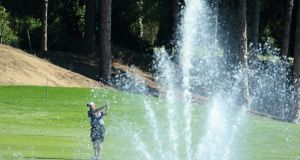 Shane Lowry  practising  in Antalya, Turkey, ahead of the Turkish Airlines Open. Photograph:   Warren Little/Getty Images