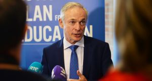 "Minister for Education Richard Bruton: ""Homemakers make a huge contribution to society. It is important the Government supports people who have worked in the home to reskill and return to work."" Photograph: Alan Betson"