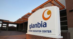 Glanbia: the company said it remains on target to deliver earnings-per-share growth of 7 to 10 per cent this year