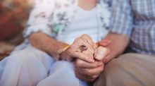 Love in old age is more about gratefulness than grasping