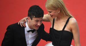 Barry Keoghan and Nicole Kidman at the screening of The Killing of a Sacred Deer at the Cannes Film Festival in May. Photograph: Getty Images